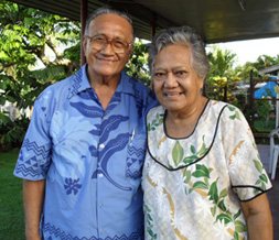 Dr Panapasa and Deaconess Olovie